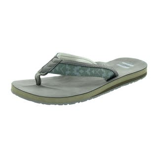 Toms Men's Verano Flip Flop Ash Olive Sandal|https://ak1.ostkcdn.com/images/products/12328486/P19160361.jpg?impolicy=medium