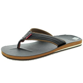 Levi's Men's Kyle J Dark Brown/Brown Sandal 7 Men's Us