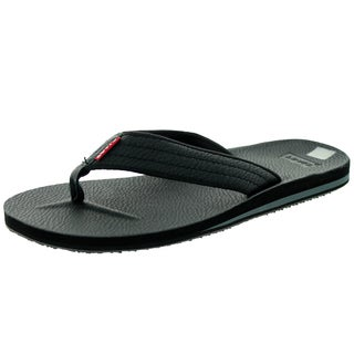 Levi's Men's Kyle J Black Sandal 7 Men's Us