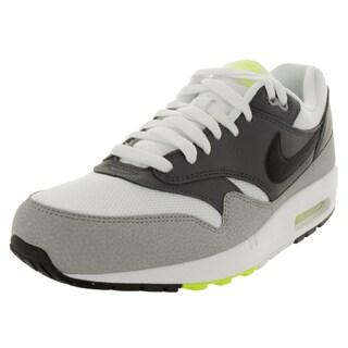 Nike Men's Air Max 1 Essential White/Black/Dark Grey/Wlf Running Shoe