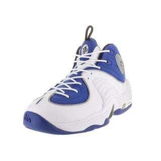 Nike Men's Air Penny Ii Blue/Black/Metallic Slver/White Basketball Shoe