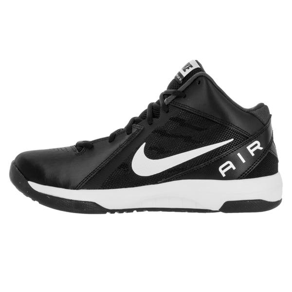 Shop Nike Men's The Air Overplay Ix BlackWhiteAnthracite