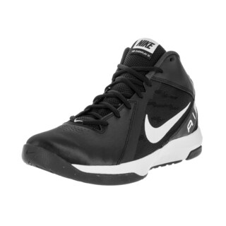 Nike Men's The Air Overplay Ix Black/White/Anthracite/Dark Basketball Shoe