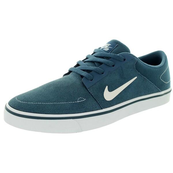 Nike Men's Sb Portmore Squadron Blue/White Skate Shoe
