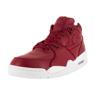 Nike Men's Nikelab Air Flight 89 Gym Red/Gym Red/White Basketball Shoe