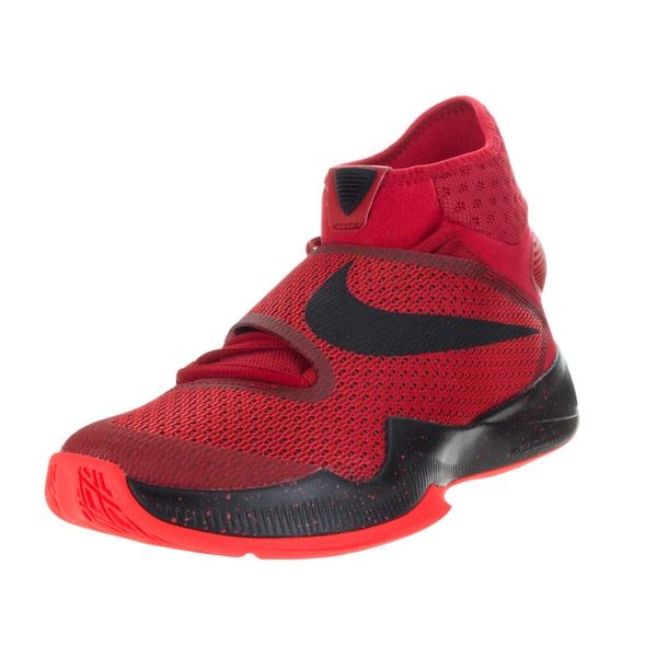b7a188a2be08 Nike Men  x27 s Zoom Hyperrev 2016 University Red Brgh Black Basketball
