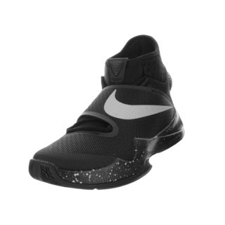 Nike Men's Zoom Hyperrev 2016 Black/Metallic Silver Basketball Shoe