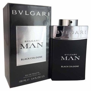 Bvlgari Man Black Men's 3.4-ounce Eau de Toilette Cologne