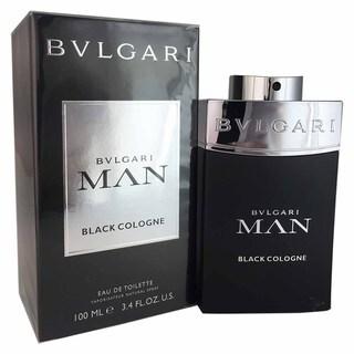 Bvlgari Man Men's Black 3.4-ounce Eau de Toilette Cologne