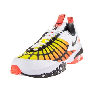 Nike Men's Air Max 120 White/Black/ Orange/Opt Yllw Training Shoe
