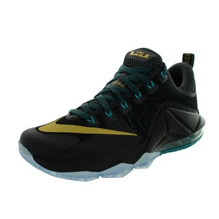 Nike Men's Lebron Xii Low Black/Mlc Gld/Anthrct/Rdnt Em Basketball Shoe