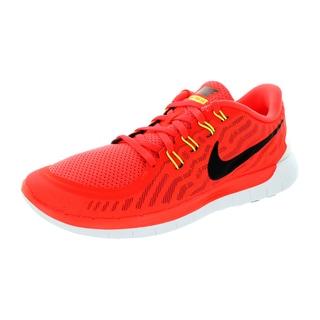 Nike Men's Free 5.0 Brgh/Black/Orange/Brght Running Shoe