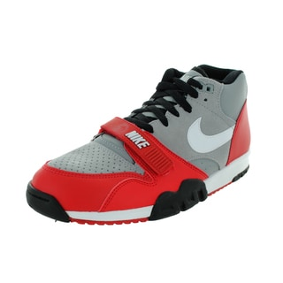 Nike Men's Air Trainer 1 Mid Wolf Grey/White/University Rd/Black Training Shoe