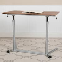 Sit-Down, Stand-Up Computer Desk with 37.5-inch Top