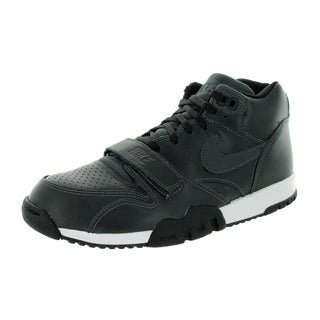 Nike Men's Air Trainer 1 Mid Anthrct/Anthrct/Black/Lsr Orange Training Shoe