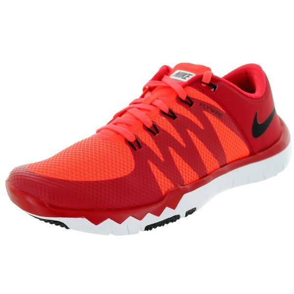 buy online c23bd 5a184 Nike Men  x27 s Free Trainer 5.0 V6 Gym Red Black Brgh