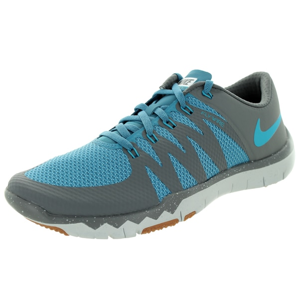 037bd0fe9ad97 Shop Nike Men s Free Trainer 5.0 V6 Grey Strts Bl  Training Shoe ...