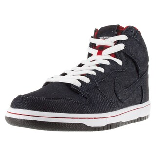Nike Men's Dunk High Premium Sb Dark Obsidian/Drk Obsdn/White Skate Shoe
