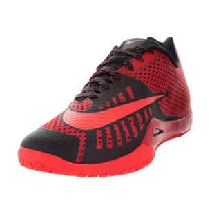 Nike Men's Hyperlive University Red/Black/Black/Gym Rd Basketball Shoe