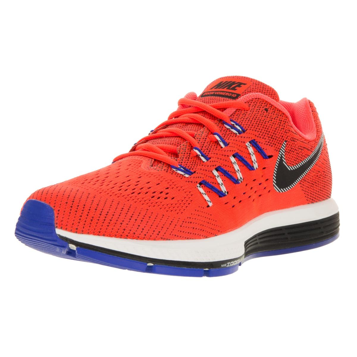 Nike Men's Air Zoom Vomero 10 Total Crimson/Black/ Runnin...