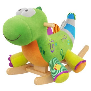 Gibson Living Alex Home Decorative The Dragon Kids' Rocker with Music