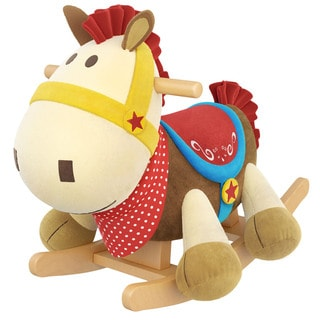 Gibson Living Frank the Horse Kids Rocker with Music