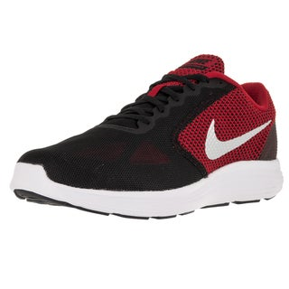 Nike Men's Revolution 3 (4E) University Red/Mlc Slver/Black/White Running Shoe