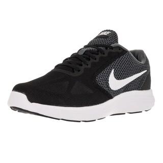 Nike Men's Revolution 3 (4E) Wide Dark Grey/White Black Running Shoe