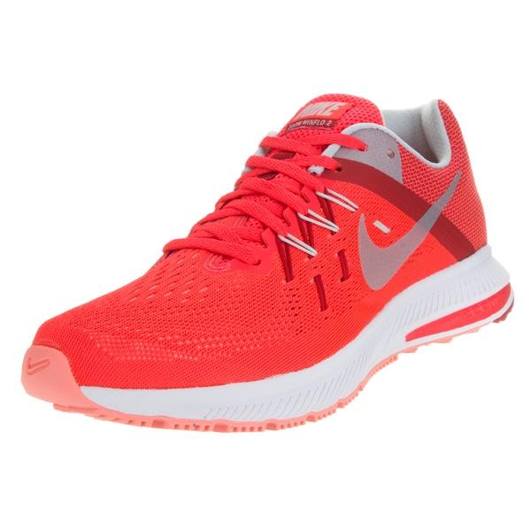 best service 405a3 85b36 Nike Women  x27 s Zoom Winflo 2 Brightt Crimsonltnm University Running Shoe