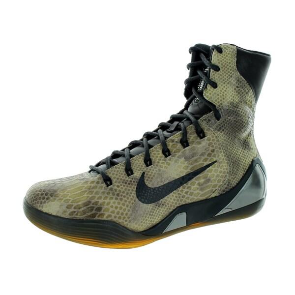 best sneakers 95e76 edc6d Nike Men  x27 s Kobe Ix High Ext Qs Black Black Basketball Shoe