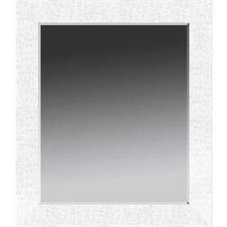 Mirror: White Contemporary