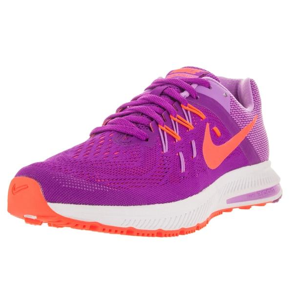 5a4207c64811 ... Nike Women x27 s Zoom Winflo 2 Vvd Purple Orange Wh Running ...