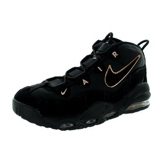 Nike Men's Air Max Uptempo Black/ Red/Bronze Basketball Shoe