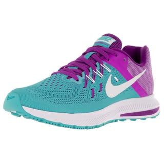 Nike Women's Zoom Winflo 2 Gamma Blue/White/Hyper Violet Running Shoe