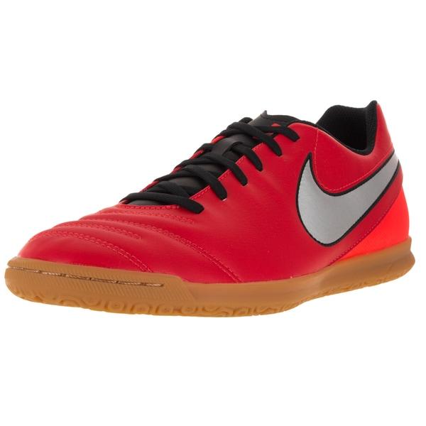 535bbeb2898 Shop Nike Men s Tiempo Rio Iii Ic L Metallic Silver  Soccer Cleat ...