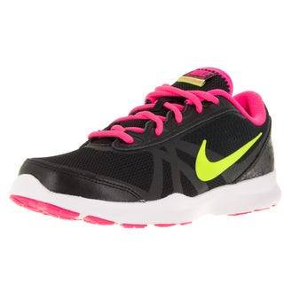 Nike Women's Core Motion Tr 2 Mesh Black/Volt/Hyper Pink/Anthrct Running Shoe