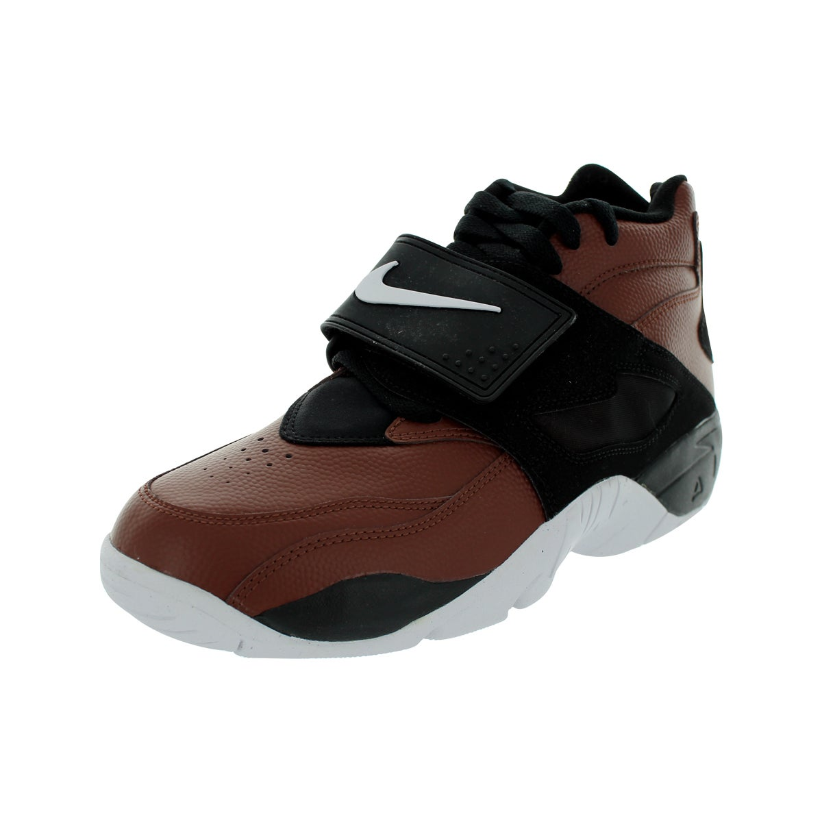 Nike Men's Air Diamond Turf Field Brown/White/Black Train...