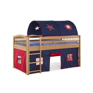 Alaterre Addison Junior Loft Tent Bed with Playhouse