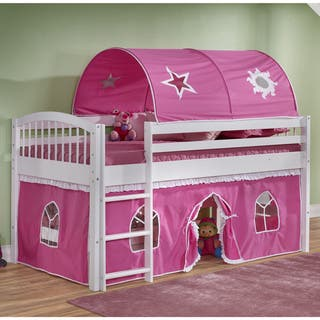 Alaterre Addison Junior Loft Tent Bed with Playhouse|https://ak1.ostkcdn.com/images/products/12328951/P19160747.jpg?impolicy=medium