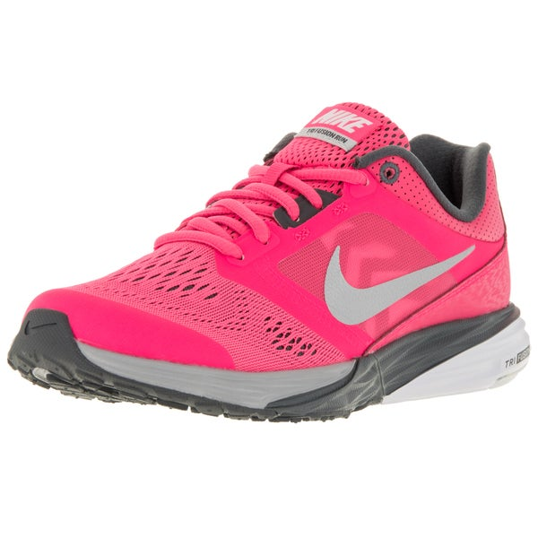 a21424583d75 Nike Women  x27 s Tri Fusion Run Pinkltnm Dark Grey Wh Running. Click to  Zoom