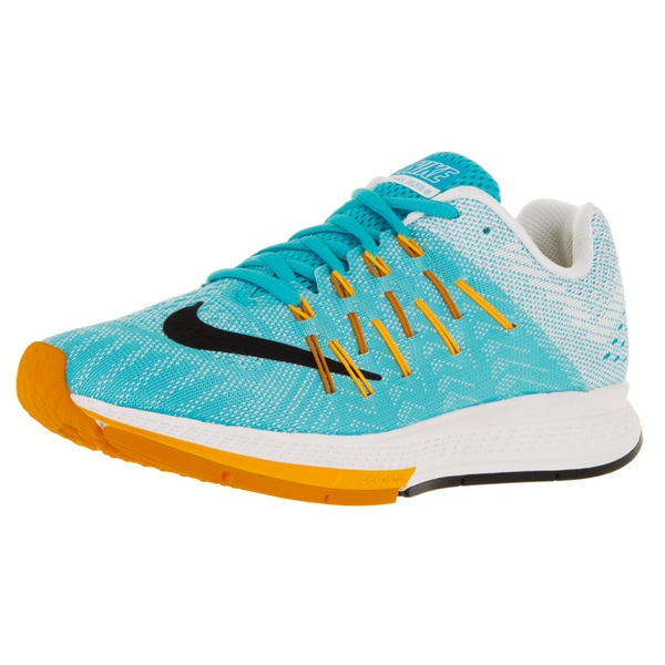 Nike Women's Air Zoom Elite 8 Gmm Blue/Black/Lsr Orange/Vvd Orange Running Shoe