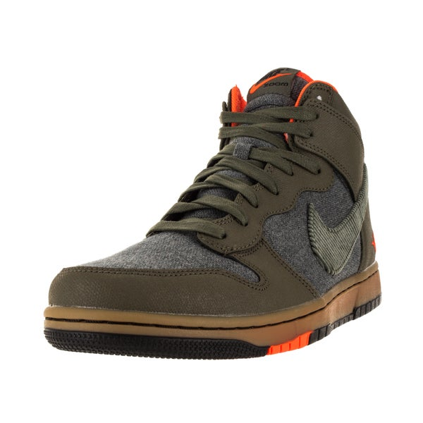 Nike Men's Dunk Cmft Prm Mdm Olv/Black/Gm Lght