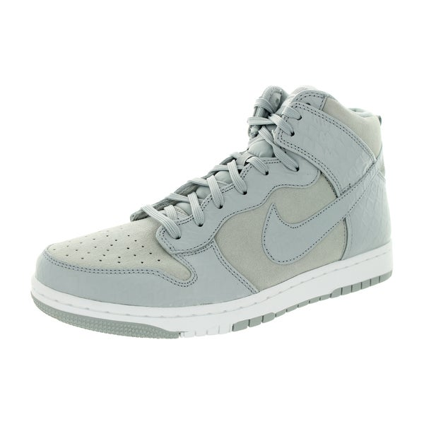 reputable site 6f874 95655 Nike Men  x27 s Dunk Cmft Prm Wolf Grey White Casual Shoe