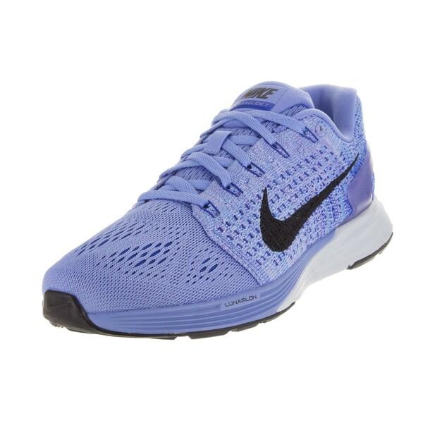 new arrivals cbe09 8d010 Nike Women  x27 s Lunarglide 7 Chalk Blueue Black Bl Tnt Running