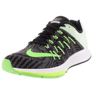 Nike Women's Air Zoom Elite 8 Black/ Green/Green Running Shoe