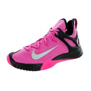Nike Men's Zoom Hyperrev 2015 Pinkfr I/Metallic Silver/Pink/Bl Basketball Shoe