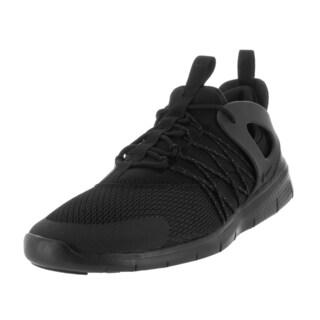 Nike Women's Free Viritous Black/Black/Dark Grey Running Shoe