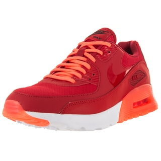 Nike Women's Air Max 90 Ultra Essential University Red/University Red/Brightt Mn Running Shoe