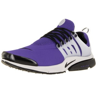 Nike Men's Air Presto Violet/Black/Ntrl Grey/White Running Shoe Men's Small (9-10 Men's Us)