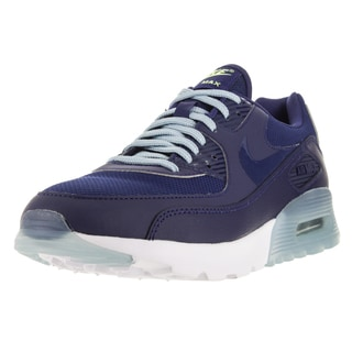 Nike Women's Air Max 90 Ultra Essential Lyl Blue/Lyl Blue/Blue Grey/Brght Crm Running Shoe